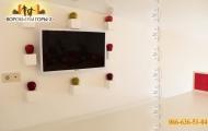 Двухуровневая квартира-студия с мебелью и евроремонтом