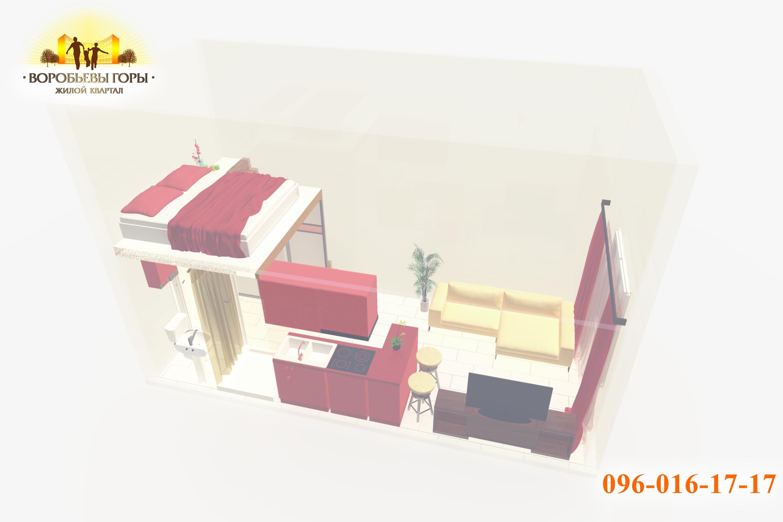 двухуровневая смарт-квартира