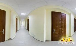 3D панорама гостинок - коридор