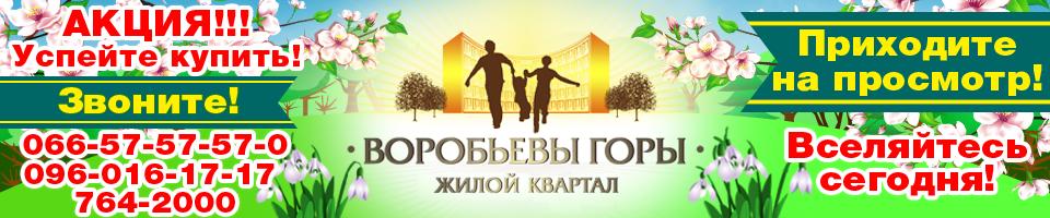 Гостинки в Харькове — Воробьевы горы